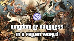 Jon Pounders hosting a conversation with Brian Reynolds about the book Kingdom of Darkness in a Fallen World on NowYouSeeTV