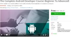 The Complete Android Developer Course: Beginner To Advanced!-udemy free coupon