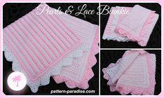 Crochet Pattern Baby Blanket Afghan Throw por ThePatternParadise