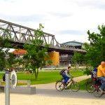 Vem conhecer o parque Gleisdreieck em Berlim: ele surgiu das ruínas de uma ferrovia e foi modelado a partir do desejo dos moradores.