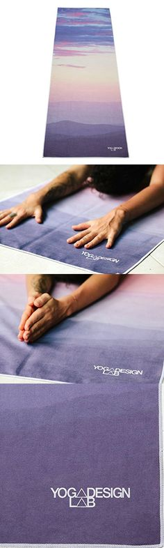 The Hot Yoga Towel. Eco-friendly, Lightweight, Insanely Absorbent, Non-slip, Microfiber Towel that Dries in Minutes! Ideal for Bikram, Hot Yoga, Pilates. Machine Washable. (Breathe-)