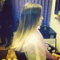 Ombre Tulle, Hairstyle, Long Hair Styles, Skirts, Beauty, Fashion, Hair Job, Moda, Skirt