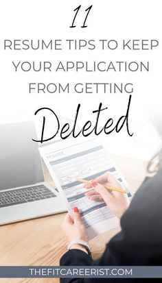 Fun fact: Your resume has about 6 seconds to make the right impression on your potential employer before they delete it or add it to their Resume Help, Job Resume, Resume Tips, Resume Ideas, Resume Skills, Free Resume, Job Interview Questions, Job Interview Tips, Job Interviews