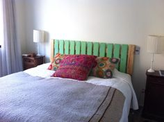 Resultado de imagen para respaldo de cama reciclando palets