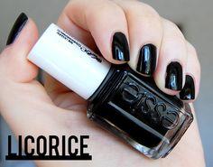 Essie - Licorice-I  adore the perfect dark mani ;)