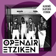 Klischée at Openair Etziken 24-07-15