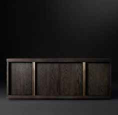 Simple cabinet in black background | www.bocadolobo.com #bocadolobo #exclusivedesign #luxuryfurniture #interiordesign #designideas #buffetsandcabinets #moderndesign #cabinetsideas #woodcabinet #cabinetsideas