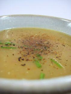Soupe de pommes de terre kartoffelsuppe