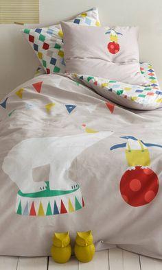 print & pattern blog - 3suisses circus bedding