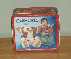 Vintage Gremlins Metal Lunch Box by Aladdin Metal (Dated 1984)