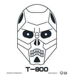 Terminator: T-800 #dblackhand #studio2.0 #platamala #poster #vector #terminator #design #graphic  #icon #icono #T-800