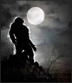 Loup-Garou Is French For Werewolf ~ It's Friday The 13th And It's The Full Moon ~ The Werewolf Moon ~