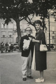 A portrait in interesting... Babe Paley & Truman Capote