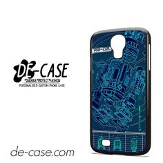 R2D2 Blue Print DEAL-9083 Samsung Phonecase Cover For Samsung Galaxy S4 / S4 Mini