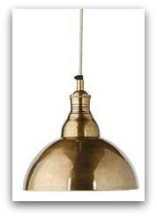 love this brass pendant