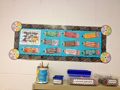 Mrs. King's Music Room: Perfect Poolside Planning: A Year of Bulletin Boards