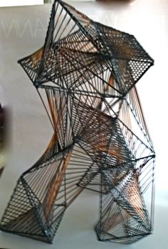 Cool 1960's Abstract Geometric sculpture  @ $ 675