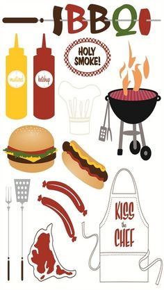 Family > BBQ Design Shop Stickers by Making Memories: Stickers Galore $3.99