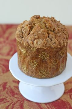 Pumpkin Cinnamon Streusel Muffins - my pumpkin recipe obsession might be getting a little out of hand...