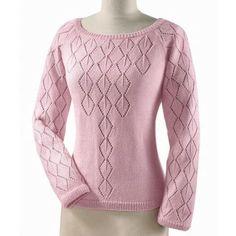Size: You will need: 300 350 g Seidana yarn poliacril, wool, silk, g); Knitting needles no. Sweater Knitting Patterns, Lace Knitting, Knitting Stitches, Knitting Designs, Knit Patterns, Knitting Needles, Summer Knitting, Raglan, Sweater Fashion