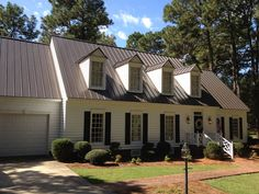 Metal Roofs Photo Gallery - Metal Roofing for Residential and Commercial Roofs - Union Corrugating Roofing Options, Roofing Materials, Roofing Systems, Metal Roof Colors, Siding Colors, Asphalt Roof Shingles, Roofing Shingles, Steel Roofing, Tin Roofing
