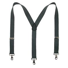 "1.5/"" Y-Back Gold Clip Elastic Dark Ocean Blue Hold-Up Men/'s Casual Suspenders"