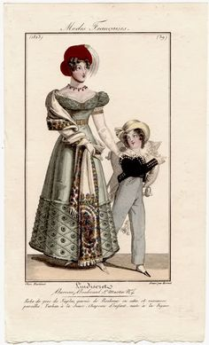 A skeleton suit for this little boy 1823 L'Indiscret