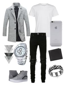 """Outfit For An Elegant Man"" by elisants on Polyvore featuring AMIRI, Vans, Native Union, Coach 1941 and Vance Co."