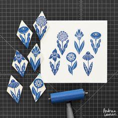 Flower Tiles : Andrea Lauren