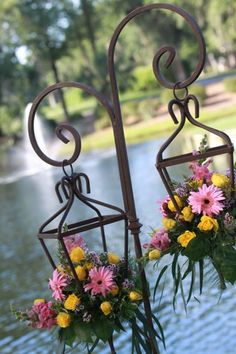 Floral Lanterns beautiful for outdoor wedding