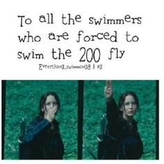 I have done this when two of my swimmers were in a swim off against each other.