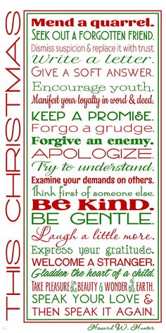 Howard W. Hunter quote from 1994 Christmas Devotional  #lds #Christmas