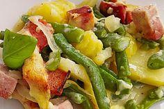 Kasseler - Pfanne, ein schmackhaftes Rezept aus der Kategorie Gemüse. Bewertungen: 135. Durchschnitt: Ø 4,5.