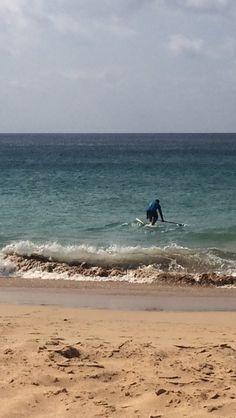 Indo ao mar!!