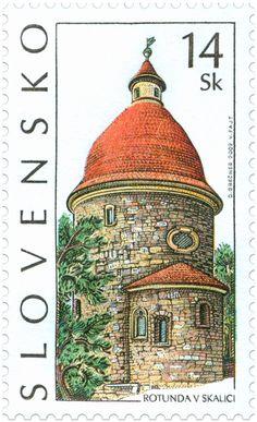 Eslovaquia 2002 - Rotonda de San Jorge, Skalica