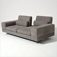 Blues Sofa - with 2 adjustable backs, Italian made - Scan Design Furniture | Modern & Contemporary | Florida