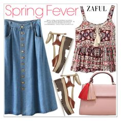 Zaful by teoecar on Polyvore featuring polyvore, fashion, style, Michael Kors and clothing