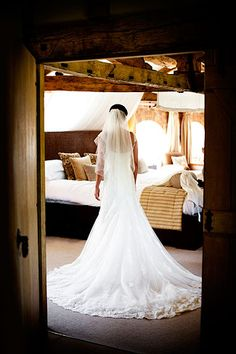 The Honeymoon Suite at Wasing Park wedding venue in Berkshire