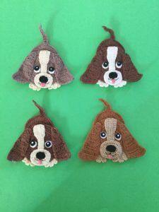 Rusty the Puppy - Quad Squad Series Amigurumi Crochet Pattern ... | 300x225