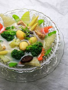 canh bóng, vietnamese food - What mom always makes in New Year :)