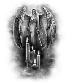 www.customtattoodesign.net wp-content uploads 2014 04 angel-warrior.jpg