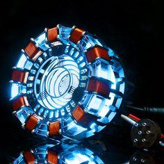 Iron Man Arc Reactor, Iron Man Wallpaper, Iron Man Avengers, Cosplay Weapons, Acrylic Frames, Character Aesthetic, Flashlight, Night Light, Concept Art