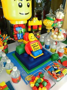 Bella Fiore Event Decoration: Kids Birthday Party - Lego Theme