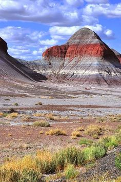"""The Tepees"" at Petrified Forest National Park, Arizona. Visit Fort Bragg Leisure Travel Services for information. Places Around The World, Oh The Places You'll Go, Places To Travel, Places To Visit, Around The Worlds, Foto Nature, All Nature, Us National Parks, Parc National"