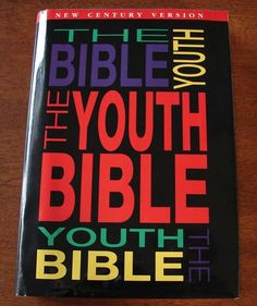 The Youth Bible New Century Version Teen Study Bible Young Adult | eBay
