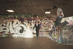 Great Wedding Photo: A Rad, Urban vs Rural, Post Wedding Shoot ~ UK Wedding Blog ~ Whimsical Wonderland Weddings