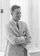 Dr. John A. Dawson, President, Adrian College; Fall Commencement 1955