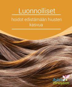 Luonnolliset hoidot edistämään hiusten kasvua   Kun #hiuksiamme on hoidettu huonosti ja ne putoavat, meidän täytyy tehdä kaikkemme #yrittääksemme palauttaa ne hyvään kuntoon ja #stimuloida niiden kasvua.  #Kauneus