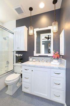 Les petites salles de bains modernes décorées
