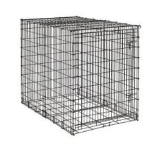 MidWest Starter Series Single-Door Drop-Pin Metal Dog Crate >>> Trust me, this is great! Click the image. : Crates, Houses and Pens for dogs
